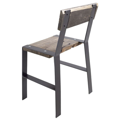 Urban Forge Side Chair-Iron Accents