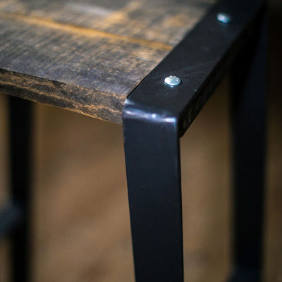Urban Forge Counter Stool-Iron Accents