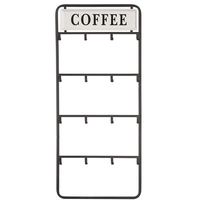 Coffee Cup Hook Wall Plaque