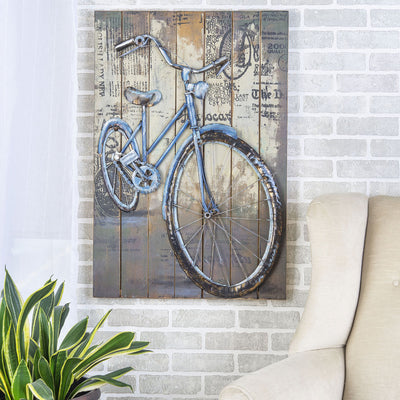 Metal Wall Art Bike