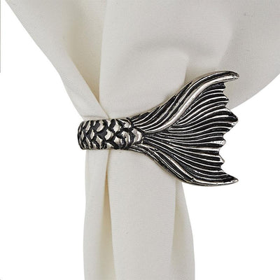 Mermaid Tail Napkin Rings (Set-6)