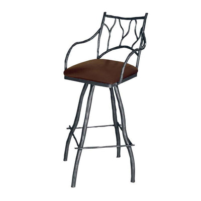 Branches Iron Bar Stool