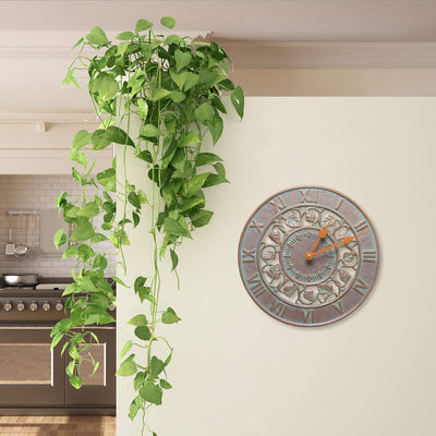 Ivy Ring Outdoor Garden Clock