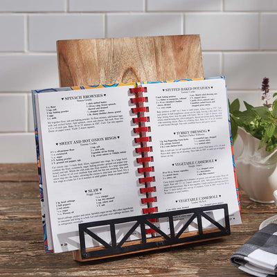 Urban Blacksmith Cookbook Holder
