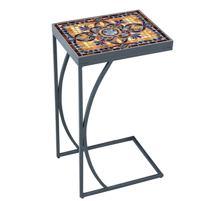 Almirante Mosaic C-Table-Iron Accents