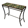 Arenal Mosaic Console Table-Iron Accents
