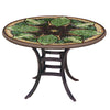 Arenal Mosaic Patio Table-Iron Accents