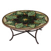 Arenal Mosaic Coffee Table-Iron Accents