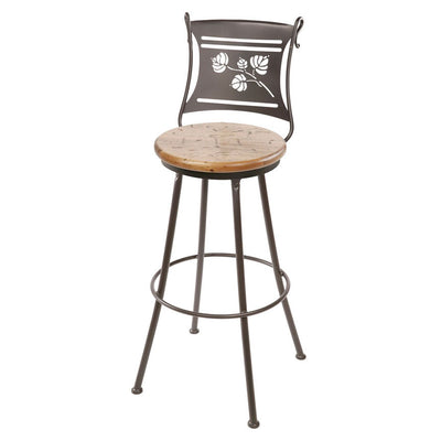 Aspen Counter Stool - Distressed Pine