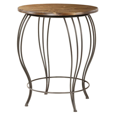 Bella Bistro Table-Iron Accents