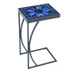 Bella Bloom Mosaic C-Table-Iron Accents