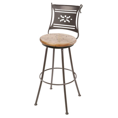 Bistro Bar Stool - Distressed Pine