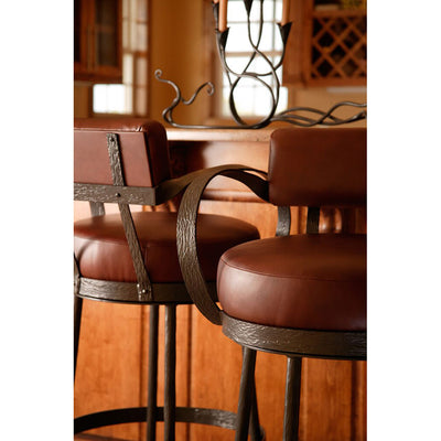 Cedarvale Counter Stool-Iron Accents