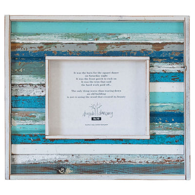 Strip Wood Frame - Blue