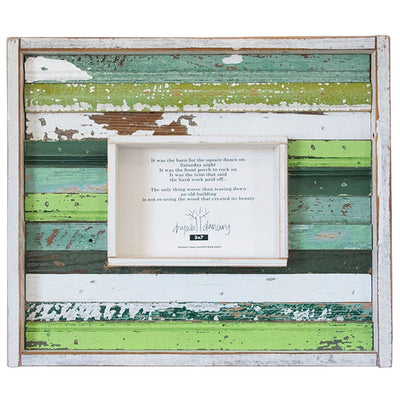 Strip Wood Frame - Green