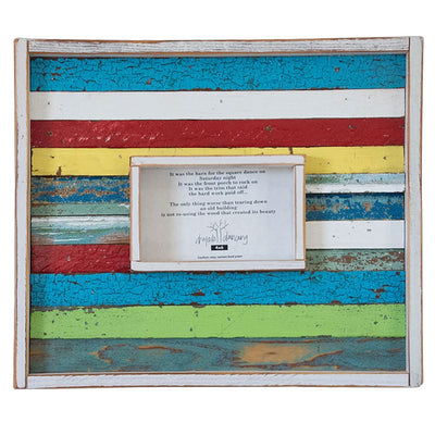 Strip Wood Frame - Multi