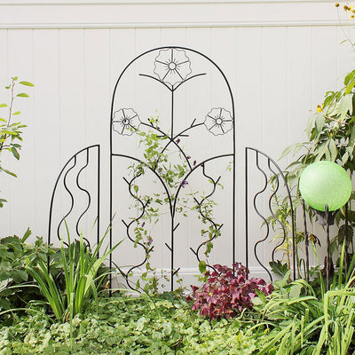 Cottage Garden Iron Trellis Set