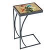 Caramel Hummingbird Mosaic C-Table-Iron Accents