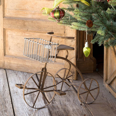 Vintage Tricycle Plant Stand
