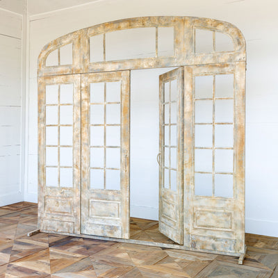 French Door Facade