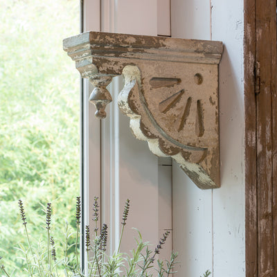 Old General Store Corbel-Iron Accents