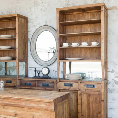 Tall Bar Back Cabinet