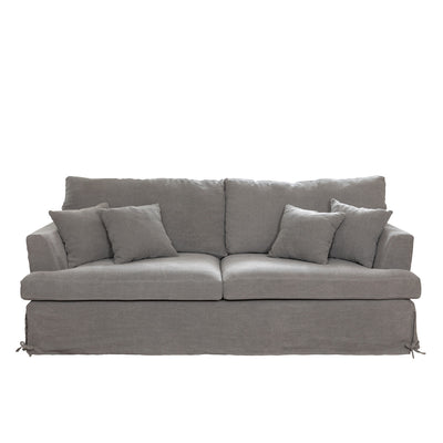Park Hill Slipcover Sofa-Iron Accents