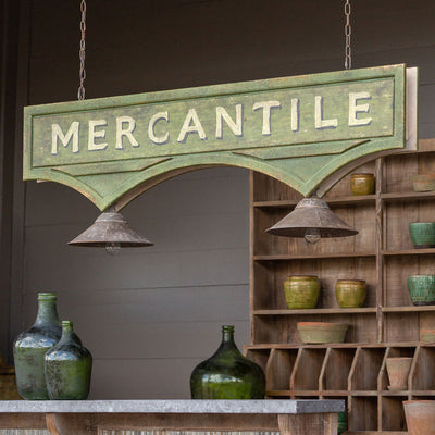 Mercantile Canopy Light Fixture