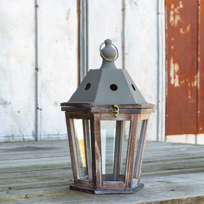 Wood & Metal Lanterns