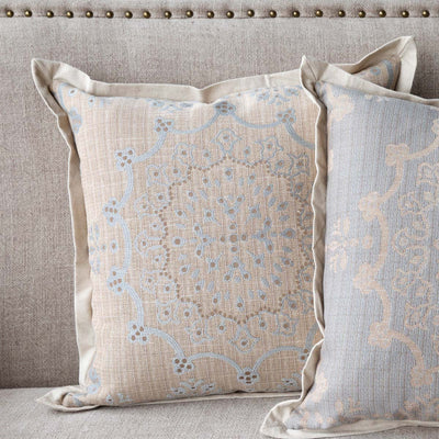 Edge Hill Down Pillow, Danish Blue (Set-2)