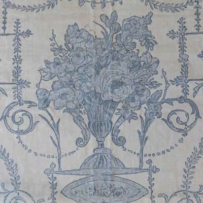 French Quarter Blue Pillow (Set-2)