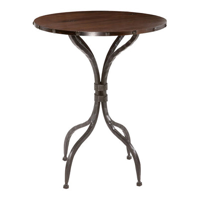 Forest Hill Bistro Table-Iron Accents