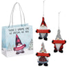 Gnome Gift Ornaments (Set-3)