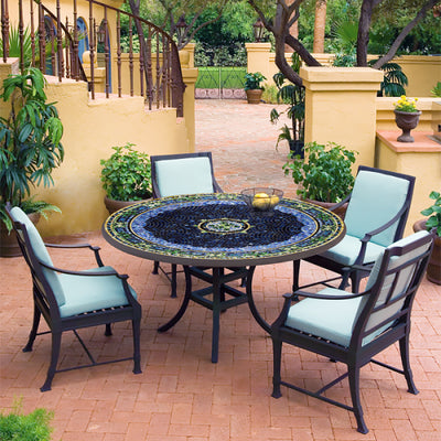 "Lake Como 60"" Mosaic Patio Set"