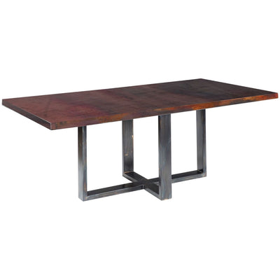 Liam Dining Table  with Dark Copper Top