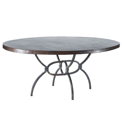 Logan Dining Table with Oval Top