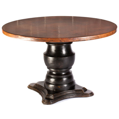 Fredrick Dining Table with Copper Top