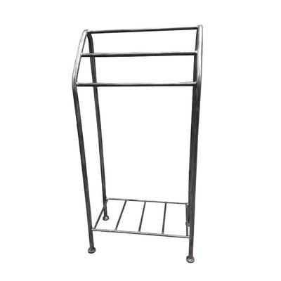 Monticello Towel Stand-Iron Accents