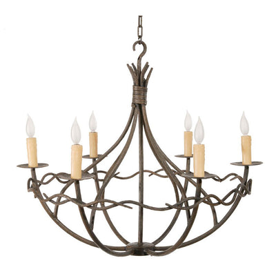 Norfork 8 Arm Chandelier