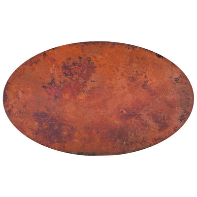 Oval Copper Table Tops