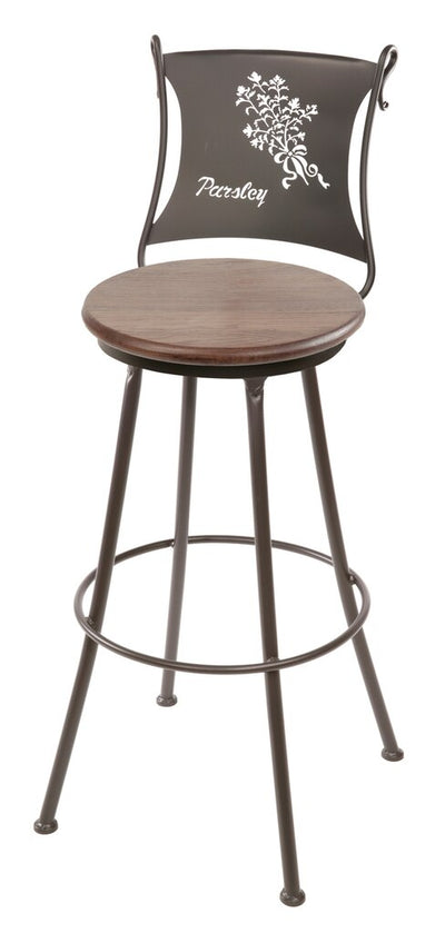 Parsley Counter Stool - Oxblood Oak