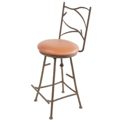Pine Counter Stool - Camel Tan