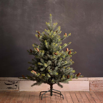4.5' Park Hill Blue Spruce LED