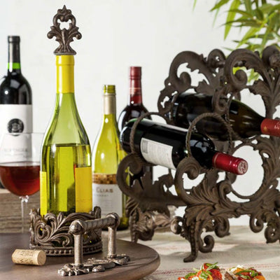 Acanthus 3-Botle Wine Holder Beauty Shot