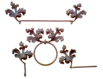 Acanthus Towel Bar