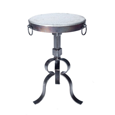 "Round Accent Table or Base for 15"" Top-Iron Accents"