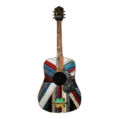 Reclaimed Wood Acoustic Guitar