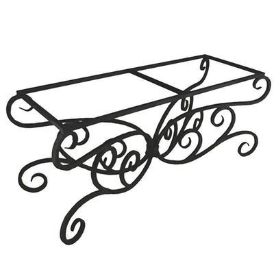 Alexander Dining Table / Base -84x42 | Iron Accents