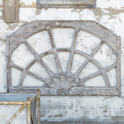 Arched Window Frame Relic | Iron Accents