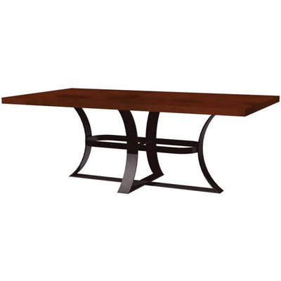 Avery Dining Table with Copper Top